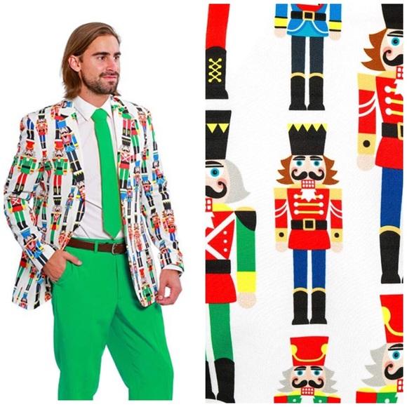 Shinesty Christmas Suits.Ugly Christmas Nutcracker Blazer Shinesty Size 42